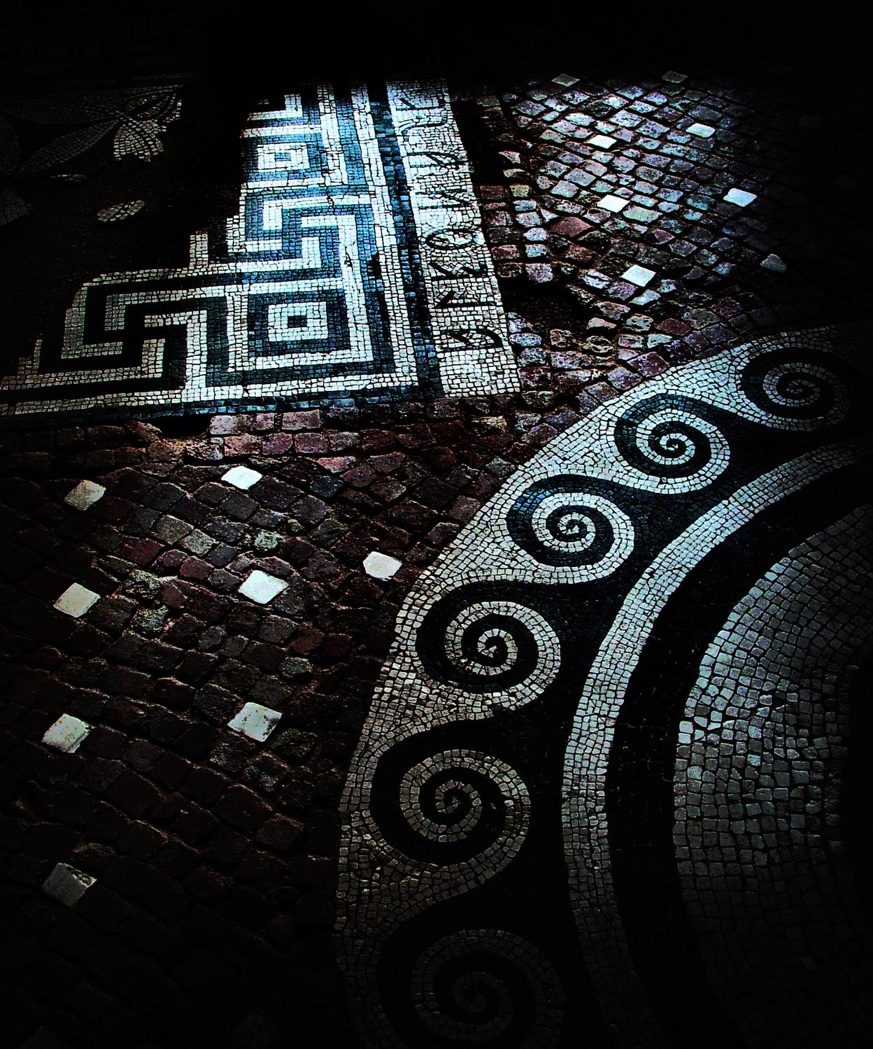 - Etruscan floor - Techno-Impressionist Museum - Techno-Impressionism - art - beautiful - photo photography picture - by Tony Karp