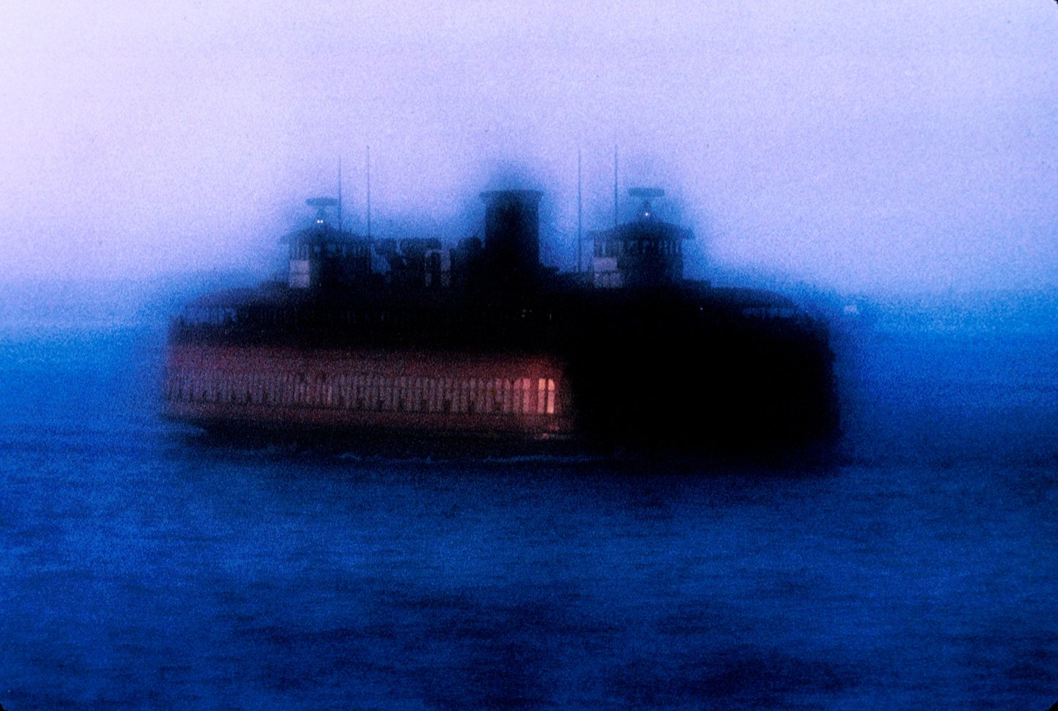 - Ghost of the ferry - Techno-Impressionist Museum - Techno-Impressionism - art - beautiful - photo photography picture - by Tony Karp